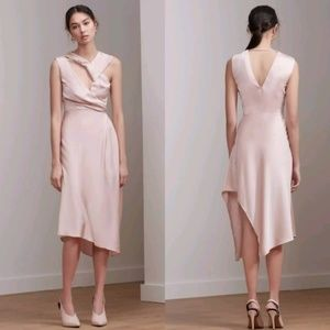 NWT Keepsake The Label Transcend Pink Midi Dress